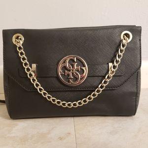 Guess Bags Price Drop Ostrich Cognac Bag Poshmark